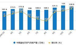 2020年1-11月中国<em>天然气</em>行业市场分析:累计产量突破1700亿立方米