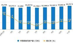 2020年1-11月中国<em>煤炭</em>行业市场分析:原煤累计产量将近35亿吨