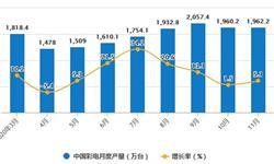 2020年1-11月中国<em>彩电</em>行业市场分析:累计产量将近1.8亿台