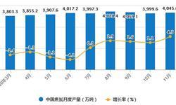 2020年1-11月中国<em>焦炭</em>行业市场分析:累计产量突破4亿吨