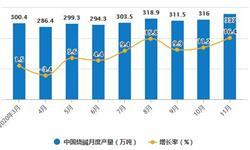 2020年1-11月中国制盐行业<em>产量</em>规模情况 <em>原盐</em>累计<em>产量</em>突破5000万吨