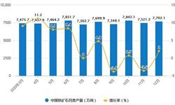 2020年全年中国<em>铁矿石</em>行业产量及进口贸易情况 累计产量将近8.7亿吨