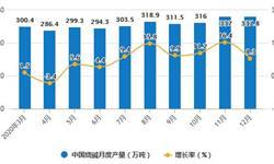 2020年全年中国<em>制盐</em>行业产量规模统计情况 烧碱累计产量突破3600万吨