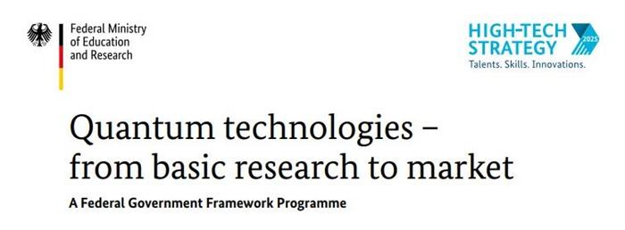 德国提出量子系统新的研究计划