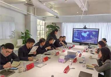 山东港口产城融合发展集团领导与前瞻展开产业规划及招商资源方面的接洽