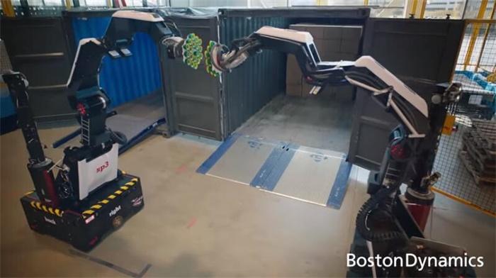 波士顿动力仓库机器人Stretch