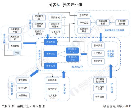 图表6:养老产业链