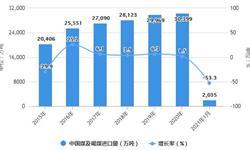 2021年1月中国煤炭行业进出口情况分析 1月煤炭进口金额同比下降超6成