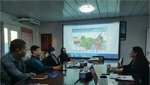 与唐山京唐智慧港领导展开产业规划与产业招商方案的现场调研工作
