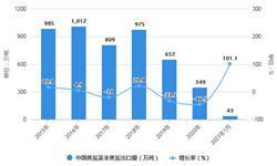 2021年1月中国<em>焦炭</em>行业出口现状分析 1月<em>焦炭</em>及半<em>焦炭</em>出口量同比增长超100%