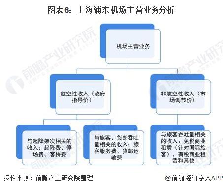 图表6:上海浦东机场主营业务分析