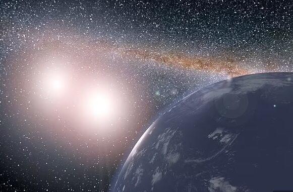 """天文学家首次清楚地识别出形成中的系外卫星,尘埃""""圆盘""""提供了证据"""