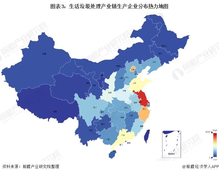 《【摩臣代理平台】【干货】生活垃圾处理行业产业链全景梳理及区域热力地图》
