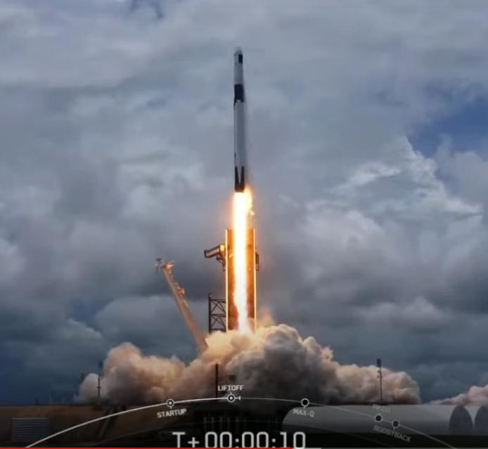 SpaceX新一代龙飞船首飞成功!将于明日与国际太空站对接
