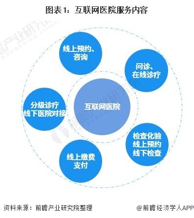 图表1:互联网医院服务内容