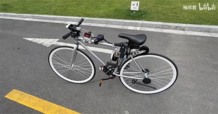 """华为天才少年又出新作品:普通自行车一变,成了真正的""""自行车"""""""