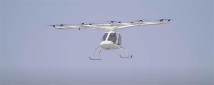 """德公司电动""""空中出租车""""试飞,计划2024年在巴黎奥运会投入使用"""