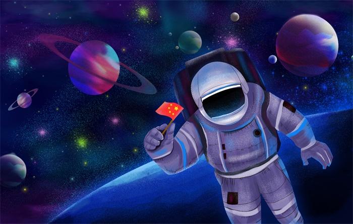 中国航天员首次出舱曾遇险情,刘伯明:哪怕牺牲也要展示国旗