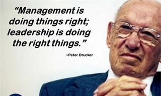 世界管理大师彼得·德鲁克的60条管理智慧精华(建议珍藏)