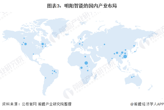 圖表3:明陽智能的國內產業布局