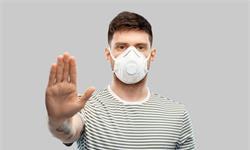 研究表明:N95呼吸器可將有害顆粒暴露量減少16倍,而普通口罩作用不大