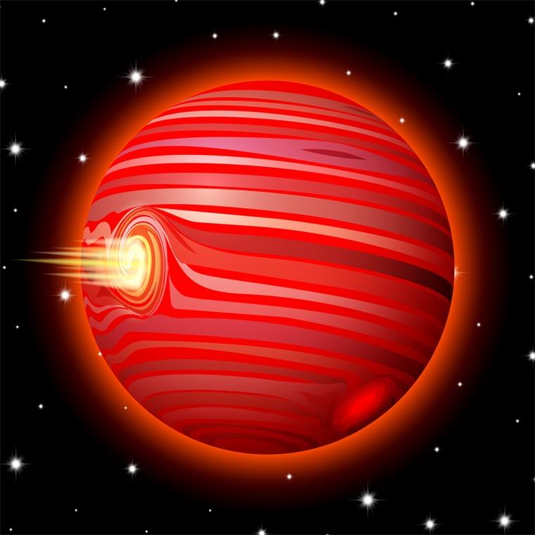 热木星:一个噼里啪啦下铁雨的星球,最高温度达4400华氏度