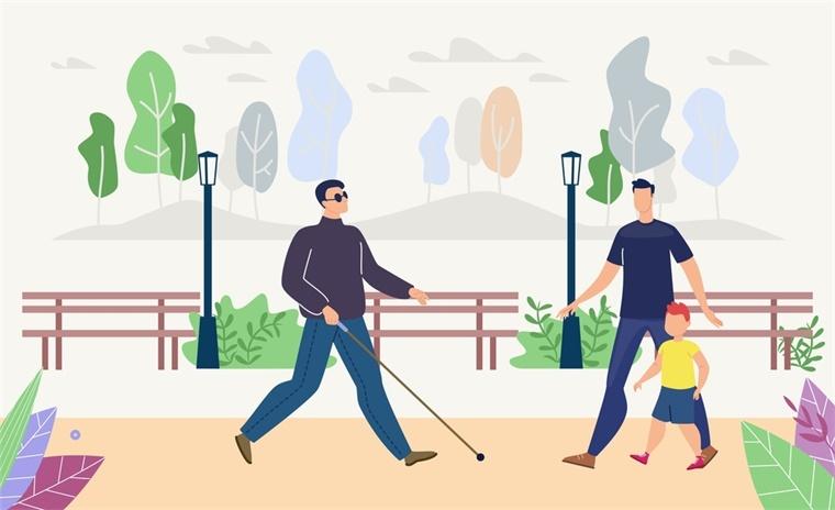 盲人新型导航智能手杖推出!售价400美元,重约1.3公斤
