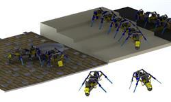 科學家利用3D打印技術造出四足群體機器人,可協同完成任務