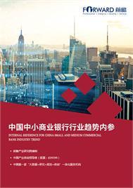 中国中小商业银行高层决策内参