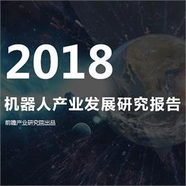 2018年<em>机器人</em>产业发展研究报告