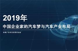 中国企业家的汽车梦与汽车产业布局