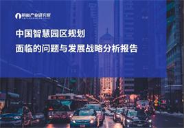 中国智慧园区规划面临的问题与发展战略分析报告