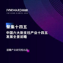 聚焦十四五:中国六大新支柱产业十四五发展全景前瞻
