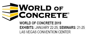 2019年美国拉斯维加斯混凝土展 World of Concrete总代